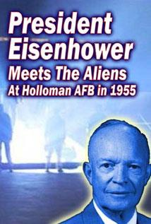 Image of President Eisenhower Meets with the Aliens at Holloman AFB