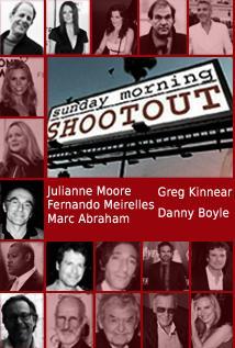 Image of Season 1 Episode 11 Julianne Moore, Fernando Meirelles, Greg Kinnear, Marc Abraham, and Danny Boyle
